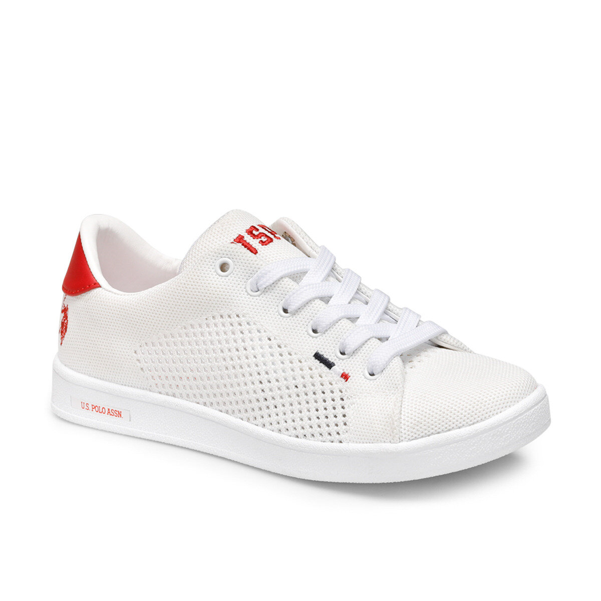 FLO FRANCO KNITTING White Women 'S Sneaker Shoes U.S. POLO ASSN.