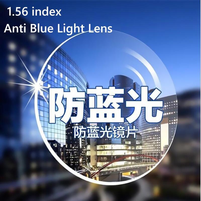 1.56 Aspherical Anti Blue Light Lens Women Men Optical Glasses Myopia Astigmatism Nerd Clear Lens Eyeglasses Prescription lens|Eyewear Accessories|   - AliExpress