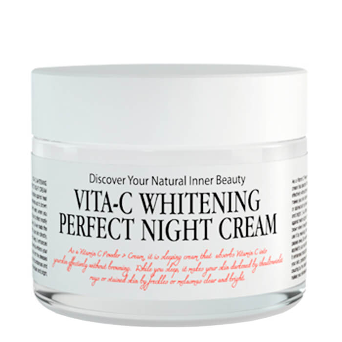 Face Cream Chamos Acaci Vita-C Whitening Perfect Night Cream
