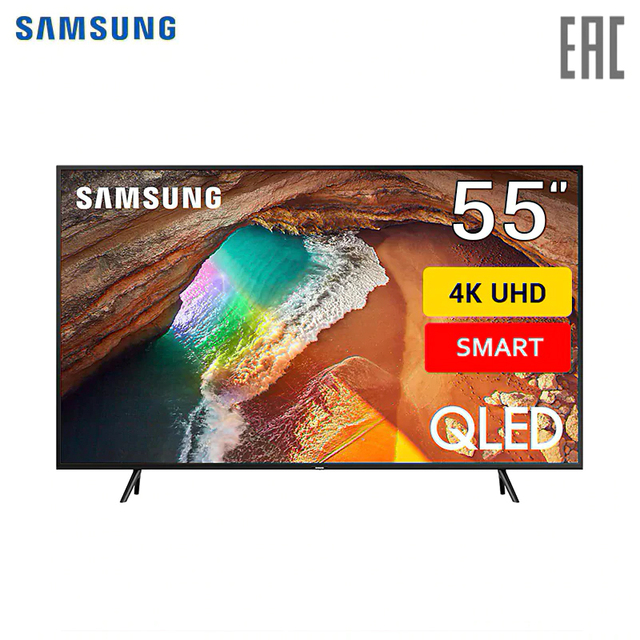 """Телевизор 55"""" QLED Samsung QE55Q60R 4K SmartTV"""