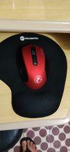 Marca top em mouse. podem comprar é perfeito: apoia bem e a as pilhas duram MT.