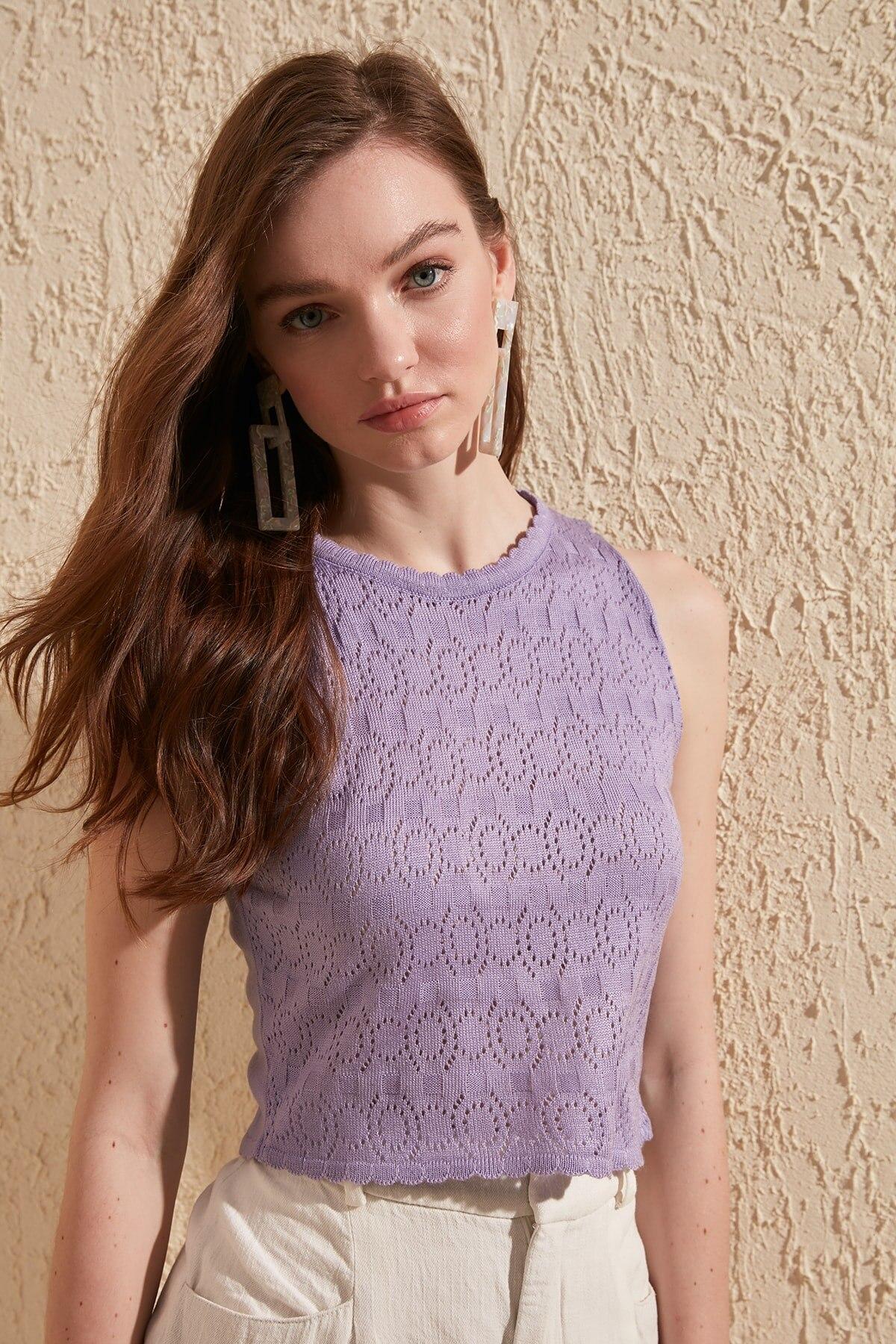 Trendyol Knitwear Bluz TWOSS20BZ0626