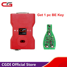 CGDI Prog for MB Benz Key Programmer Support Password Calculation Get 1 pc CG BE Key Free Ship from USA/UK/RU