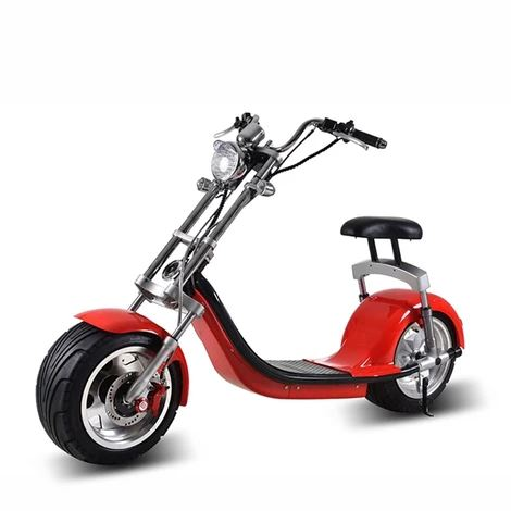 X7 Harley Style 2 Wheel 2000W Fat Tyre Electric Single Seater Scooter