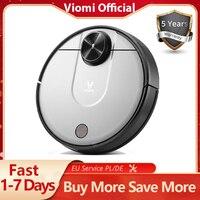 VIOMI-Robot aspirador 2 en 1 V2 PRO, aspiradora LDS + SLAM para el hogar, Barre y friega en seco y húmedo, silencioso, Control por aplicación Mijia, guarda 5 mapas