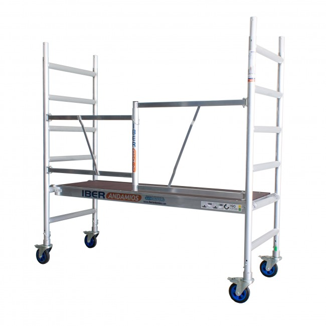 Scaffold Folding In Aluminum CT26 With No Trapdoor Platform