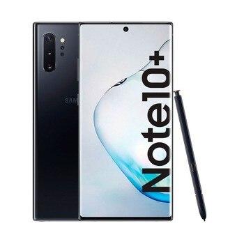 Купить Samsung galaxy note 10 + Black aura мобильный телефон с двумя sim-картами 6,8''