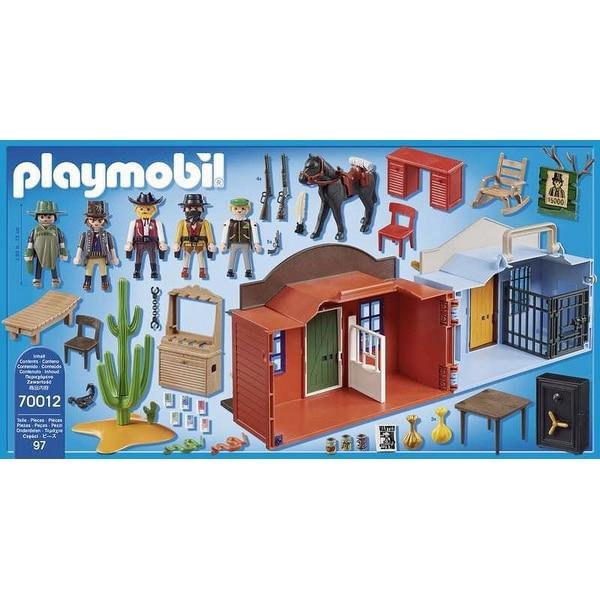 Playset Western City Case Playmobil 70012 (97 pièces) - 2