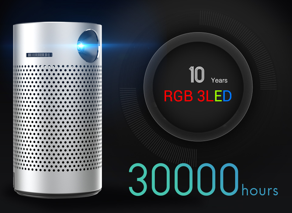 Uc6a0e4e9000e46479ab234e2f90ad6efD - モバイルプロジェクター android ポケット ポータブル Wifi 1080P 4K TV ミニLEDホームシアター 電話 DLP S204001170613738