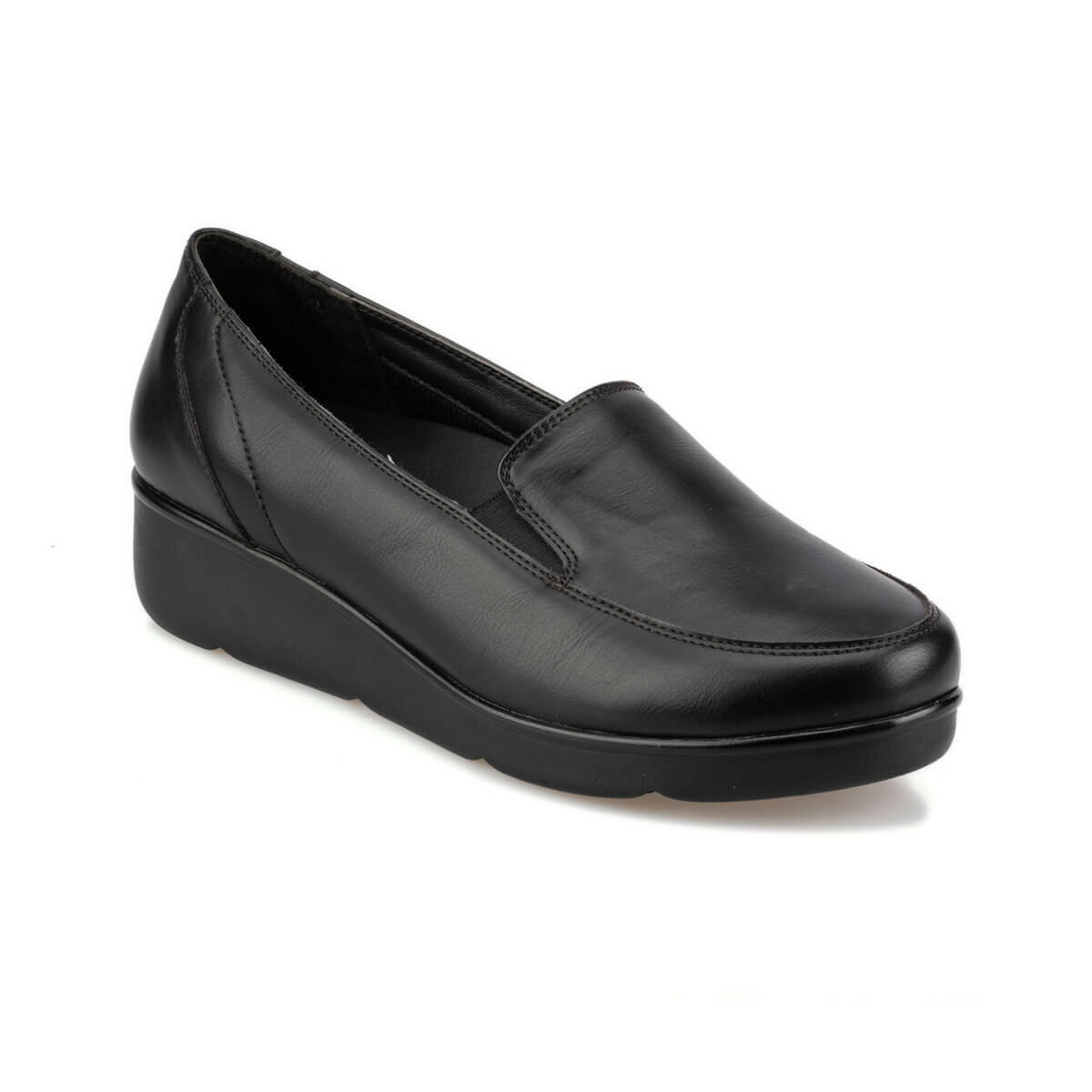 FLO 92. 100110.Z Black Women 'S Wedges Shoes Polaris 5 Point
