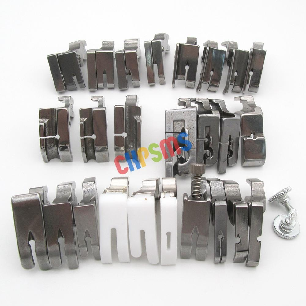 Image 2 - 25PCS PRESSER FEET SET FIT FOR JUKI DDL 555 5550 5600 8300 8500 8700 9000 SEWING Machine #KP PF25-in Sewing Tools & Accessory from Home & Garden