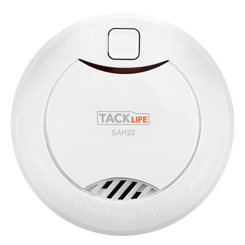 4pcs Independent  Smoke Detector Alarm Smoke Alarm Smoke Detector Sensor Fire Sensitive Detector Home Security Fire Equipment