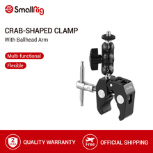 SmallRig Multi Funzionale di Granchio Pinza a Forma di con Ballhead Braccio Per DJI stabilizzatore/Freefly Stabilizzatore/Video C Del basamento del Morsetto Kit 2161