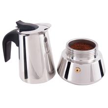 Ekspres do kawy ekspres do kawy przenośny ekspres do kawy dzbanek do kawy ekspres do kawy ekspres do kawy ekspres do kawy zaparzacz do kawy Espres tanie tanio BiggCoffee TR (pochodzenie) 4-5 filiżanek ESPRESSO 220-240 STAINLESS STEEL Gray