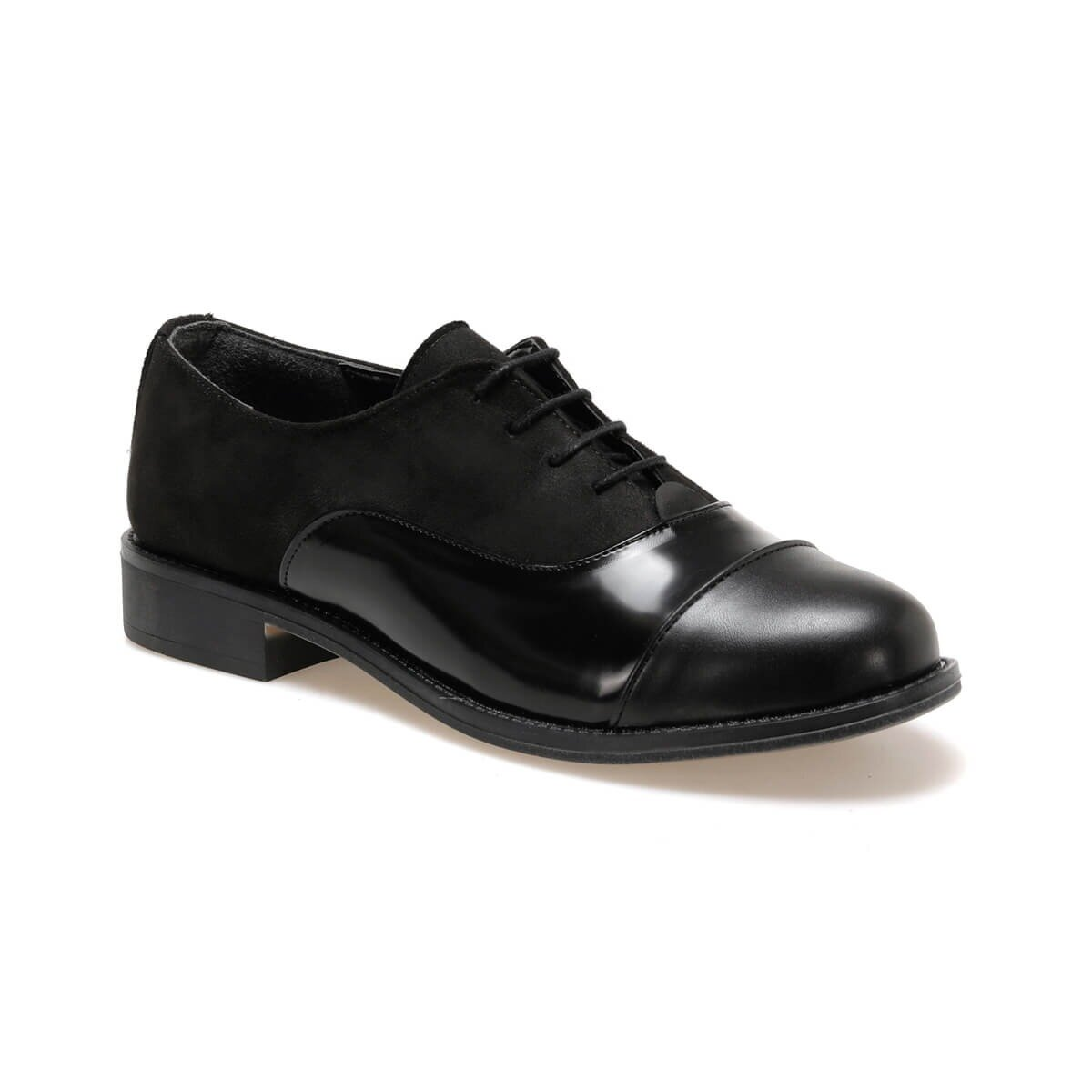 FLO DW19034 Black Women Oxford Shoes Miss F