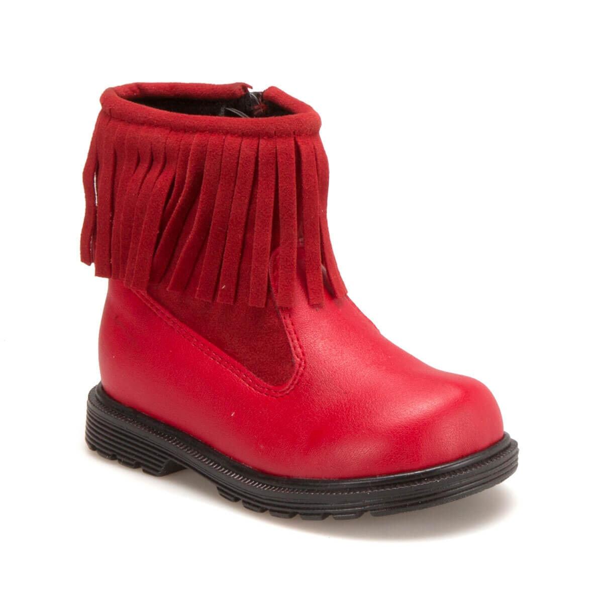 FLO 62.508412.B Red Female Child Boots Polaris