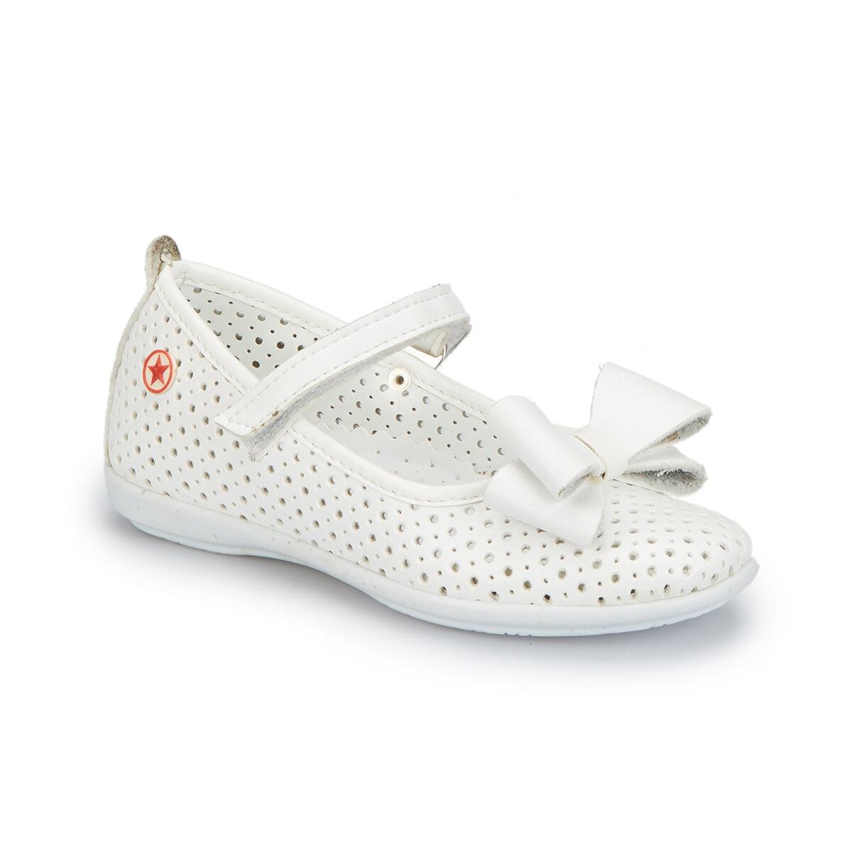 FLO 81. 509158.P White Female Child Ballerina Polaris   - title=