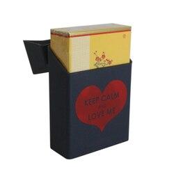 부드러운 실리콘 담배 케이스 휴대용 패턴 담배 주최자 케이스 커버 담배 액세서리 남자 여자 선물 담배 상자