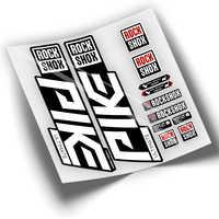 PEGATINAS HORQUILLA BICICLETA PIKE 2020 WP297 ROCK SHOX