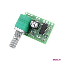Pam8403 digital audio amplifier 2x3 W with volume control-2 PCs