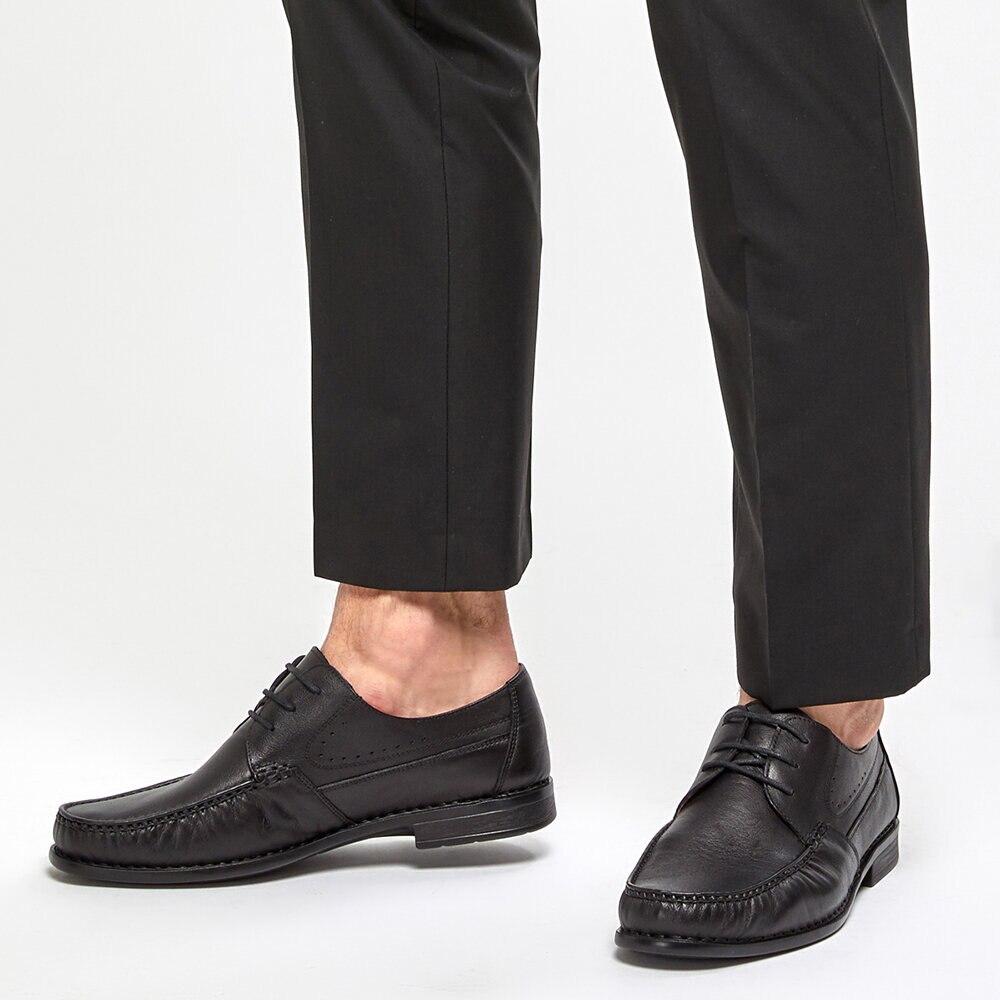 FLO 91. 108826.M Black Men 'S Classic Shoes Polaris 5 Point