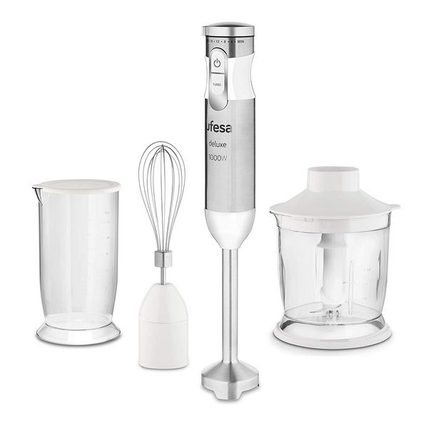 Hand-held Blender UFESA BP4572 1000W Blanco