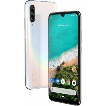 Перейти на Алиэкспресс и купить Xiaomi My A3 4 ГБ/128 ГБ Белая Двойная SIM