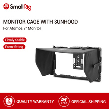 "SmallRig Monitor Cage with Sun Hood Shade for ATOMOS Shogun Inferno/Ninja Inferno/ Shogun Flame/Ninja Flame 7"" Monitors   2008"