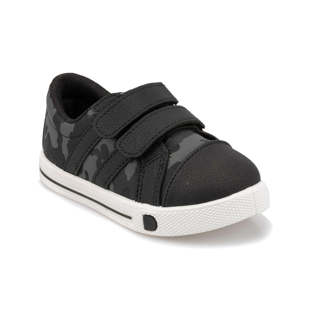 FLO 92.511714.B Black Male Child Sneaker Shoes Polaris