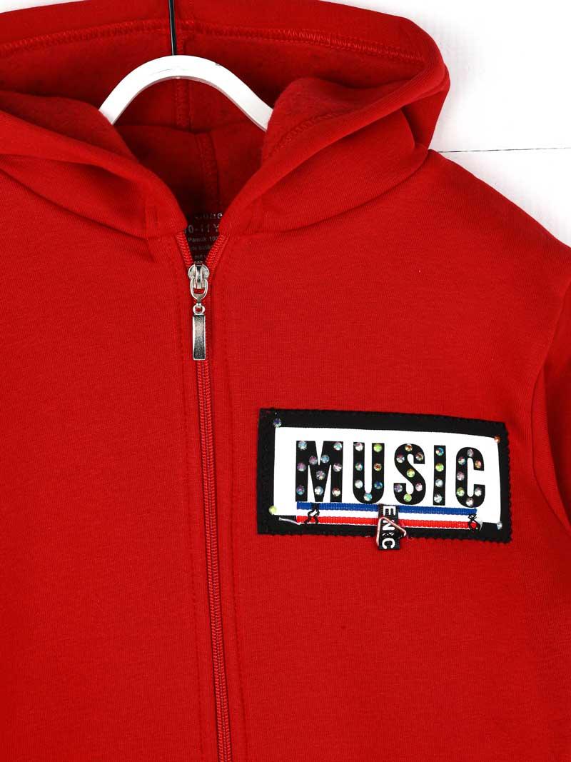 019-1828-002 Kırmızı Kışlık Kız Çocuk Sweatshirt (2)