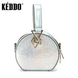 Сумка женская 307100/62-03 серебряная KEDDO