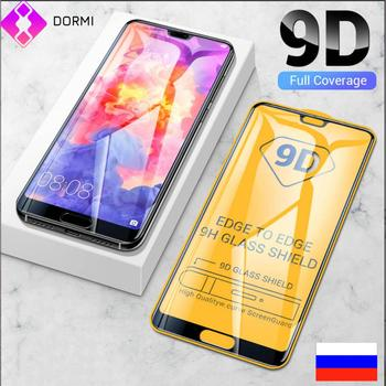 10 pcs/lot 9D full glue tempered glass for Huawei P30 Lite P20 Pro protective huawey P 20 30 light p20pro p30lite Curved Film