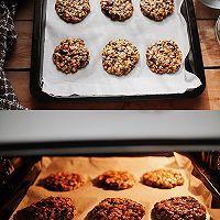 搅一搅就的超美味㊙️高纤燕麦饼干的做法图解3