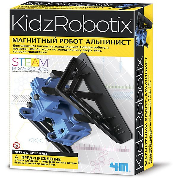 Set For Robotics 4M KidxRobotix Magnetic Robot-climber