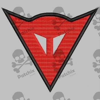 DAINESE Iron Patch Toppa Ricamata Gestickter Patch Patch Brode Parche Bordado Logo