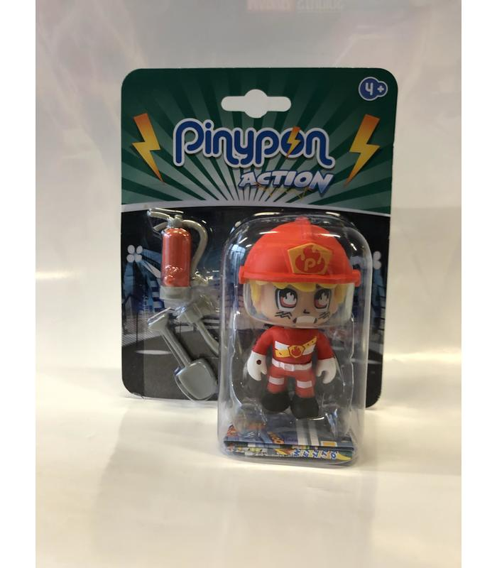 Figure Pinypon Action Fireman Toy Store Articles Created Handbook