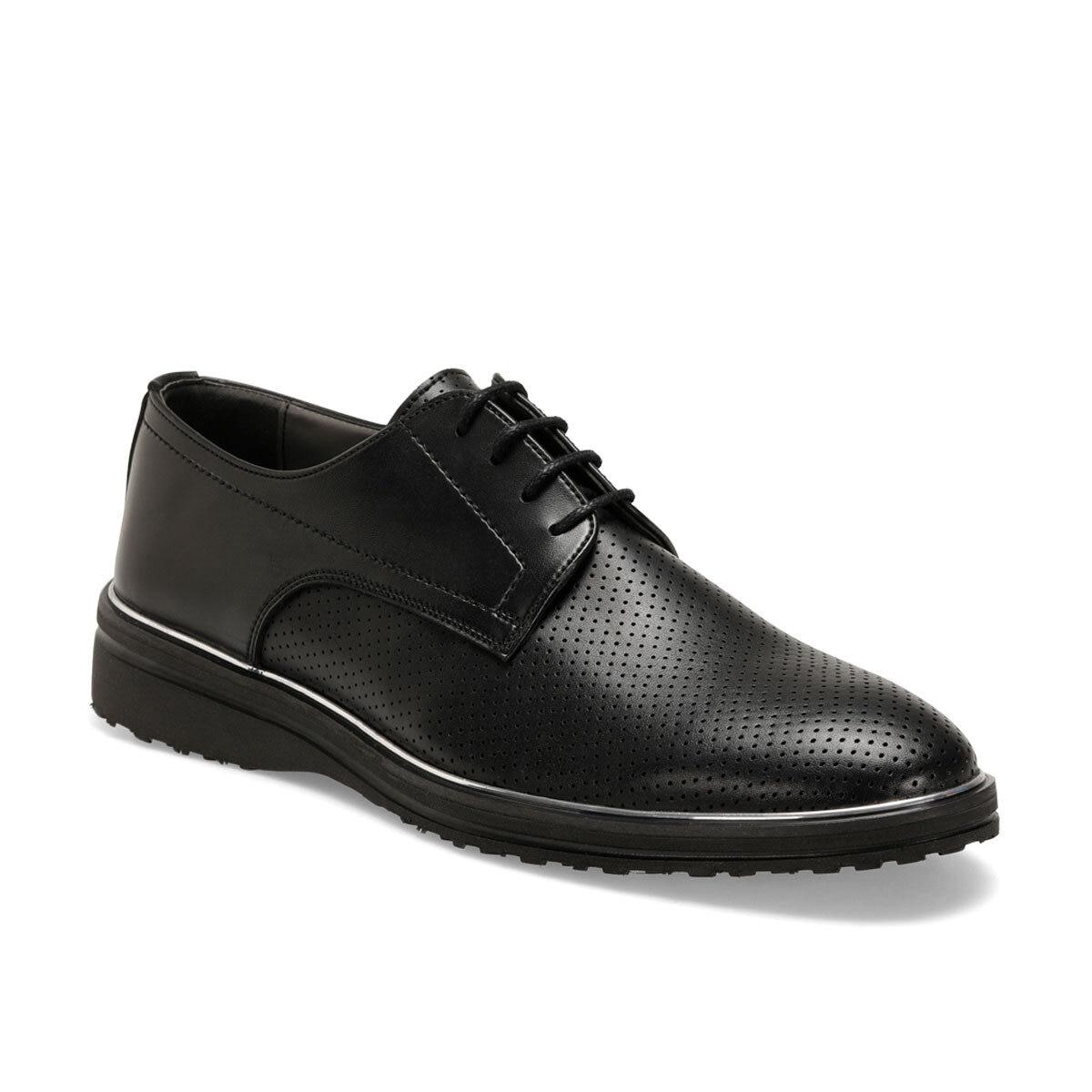 FLO 313-1 zapatos de vestir negros para hombre JJ-Stiller