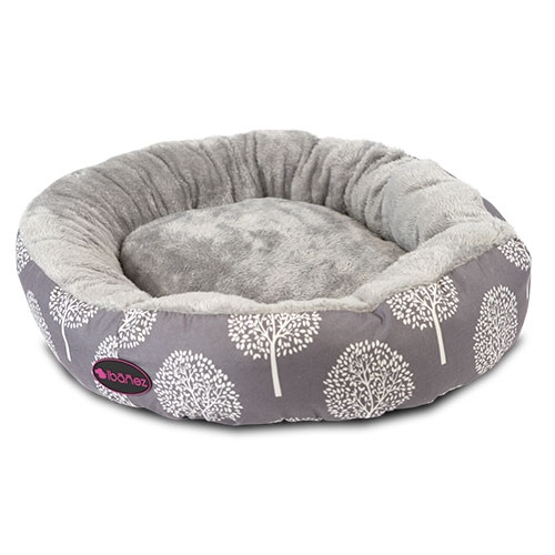 Dog Bed And Cats Shape Donut Stampings Neutral Large Size 73x12 Cm