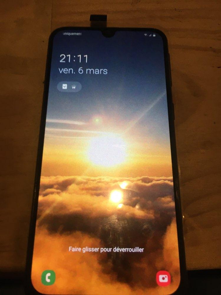 Super AMOLED pour Samsung A40 LCD A405 LCD écran tactile numériseur assemblée avec cadre a40 écran remplacement pièces de répara