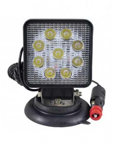 JBM 52568 HEADLIGHT LED WORK-SQUARE