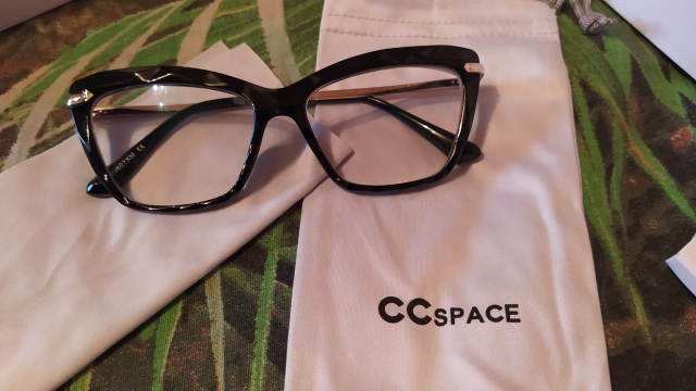 CCSPACE Optical Computer Fashion Square Glasses Frames for Women photo review