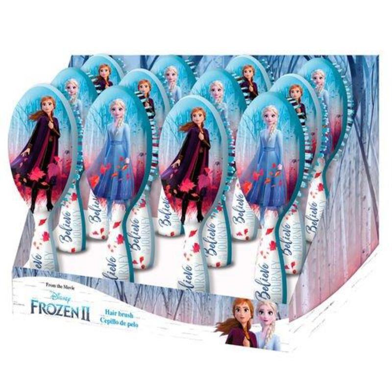 Scrub Brush Hair Frozen II, Elsa Or Anna.