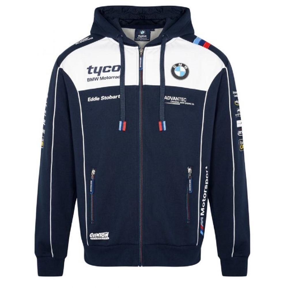 BMW Tyco Motorrad Oficial Hoodie paddock pitlane teamwear motorcycle racing team men's