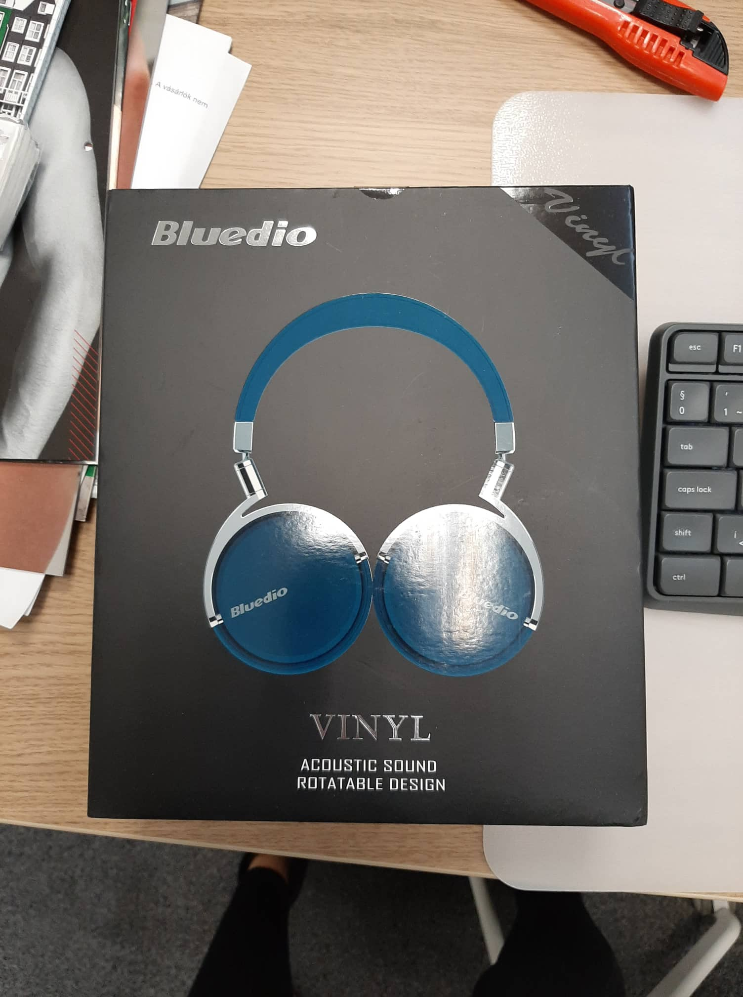Original Bluedio Vinyl Premium Bluetooth Headphones Super Bass Wireless Headset With Microphone For Music and phone xiaomi-in Bluetooth Earphones & Headphones from Consumer Electronics on AliExpress