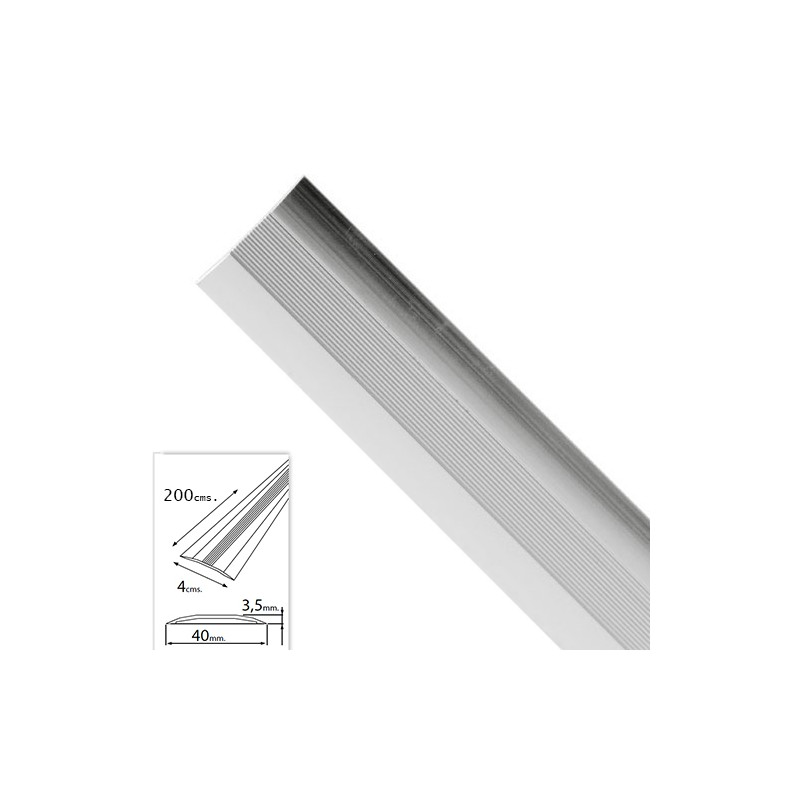 Flashing Adhesive For Carpets Silver Aluminum 200,0 Cm.