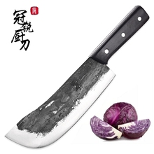 Couteau de Chef, couperet, hacheur, outils de cuisine faits à la main couteaux de cuisine traditionnels chinois Pro couteau dabattage tranchant nouveau