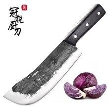 Koksmes Cleaver Chopper Snijden Koken Gereedschap Handgemaakte Keukenmessen Traditionele Chinese Stijl Pro Sharp Slachten Mes Nieuwe