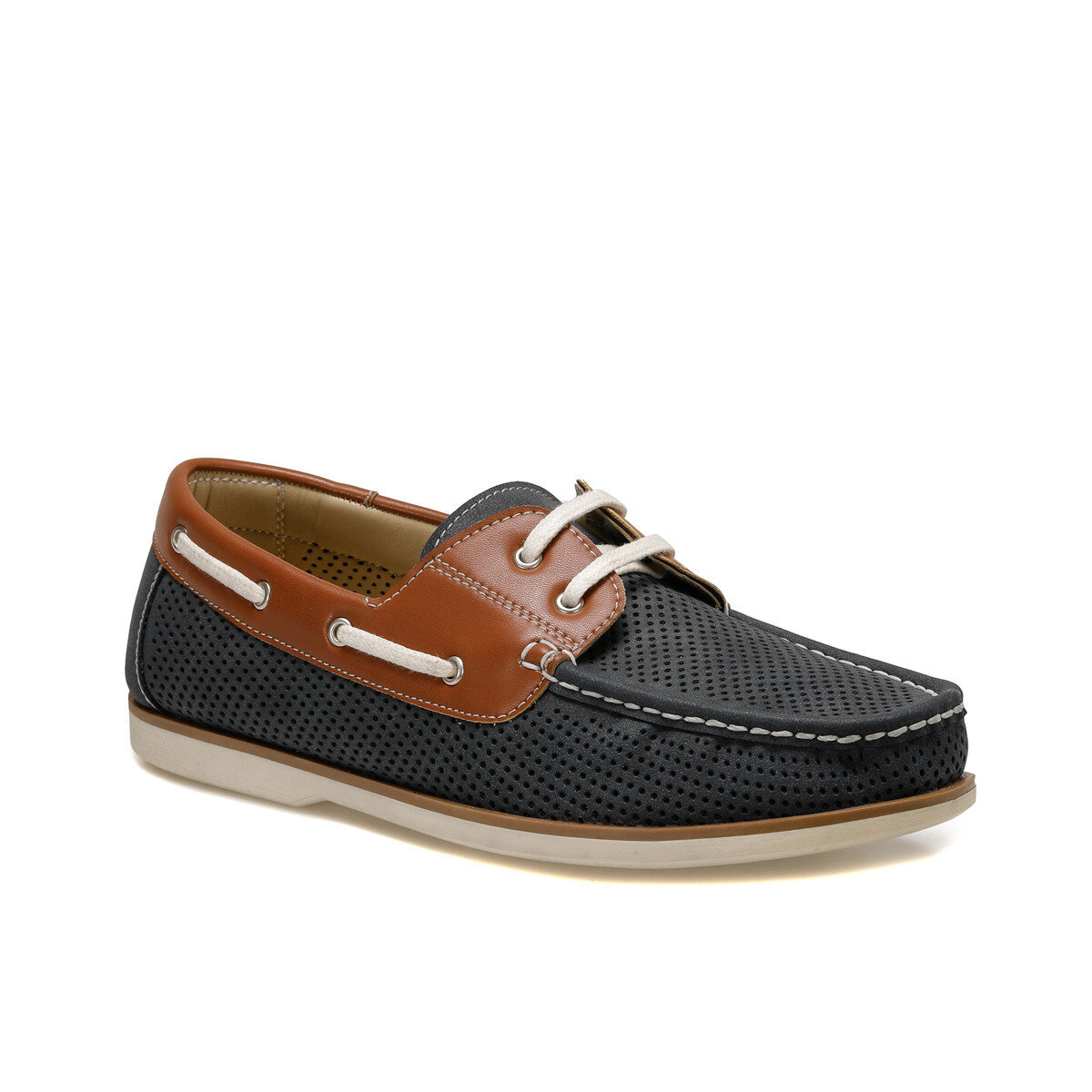 FLO MRB73 Navy Blue Men 'S Shoes Oxide