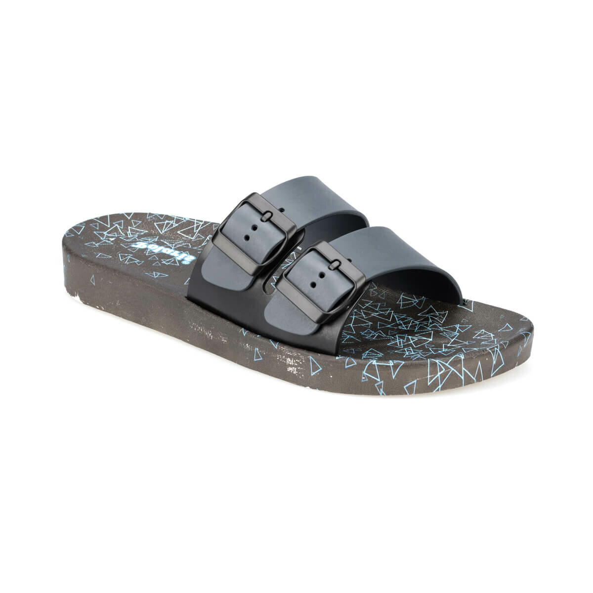 FLO 91. 400055.M Gray Male Slippers Polaris