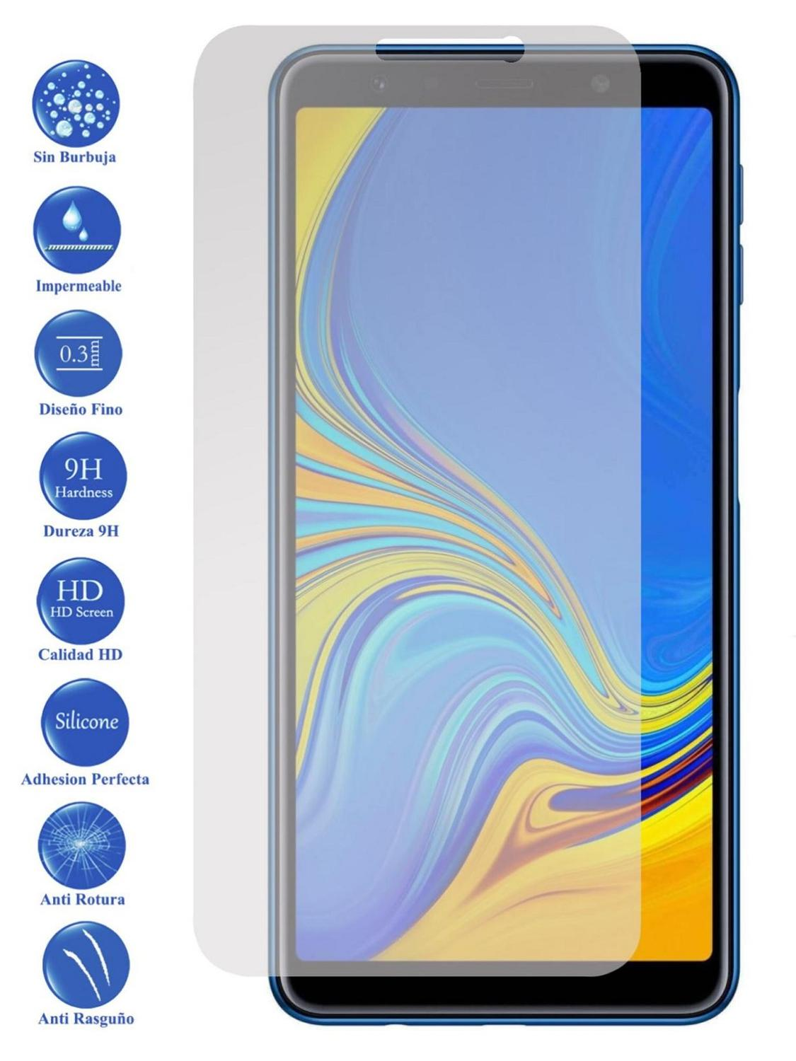LCD cover <font><b>screen</b></font> <font><b>protector</b></font> Tempered Glass for <font><b>Samsung</b></font> Galaxy <font><b>A3</b></font> A6 A7 A8 A5 A7 A8 A9 Normal and Plus 2015 2016 <font><b>2017</b></font> 2018 image